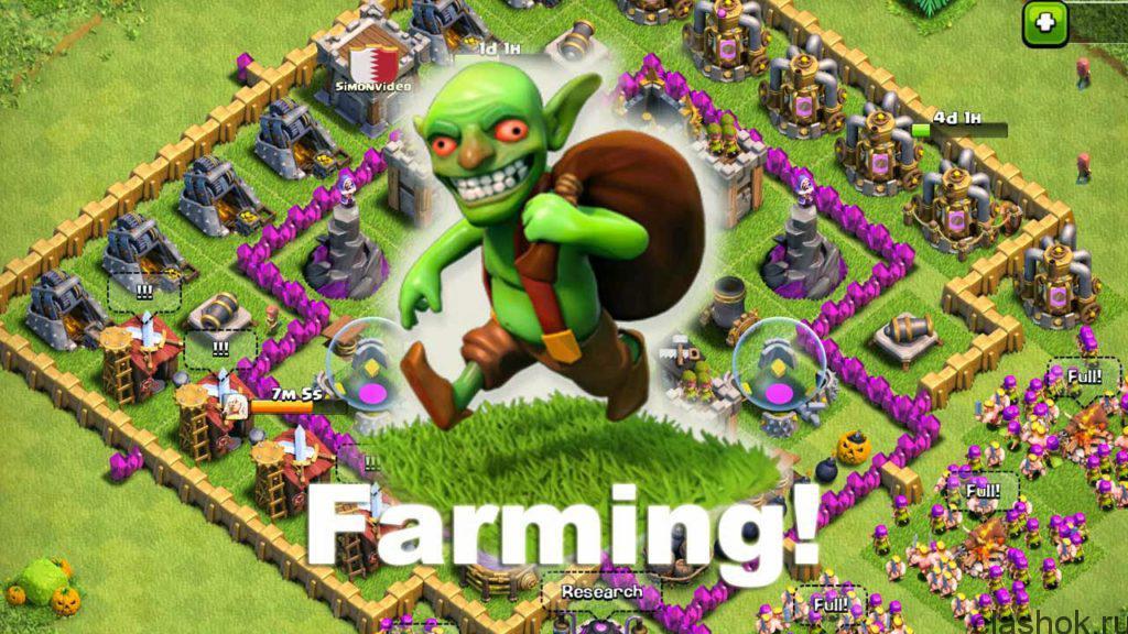 фарм гоблинами
