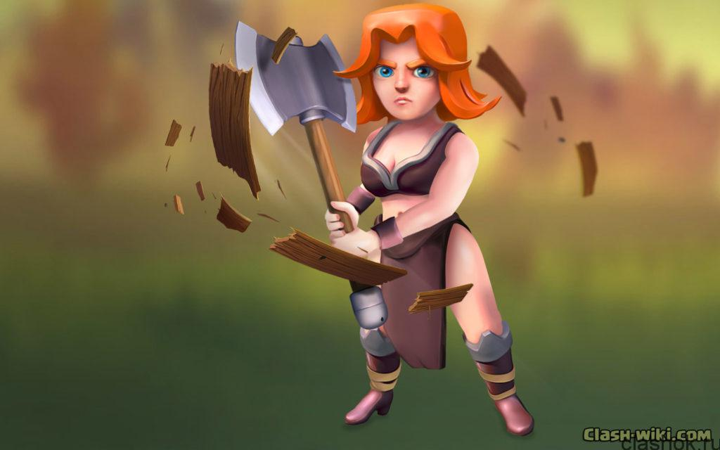 clash-of-clans-valkyrie-wallpaper