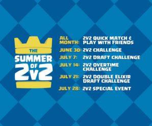Планы supercell на июль в игре Clash Royale