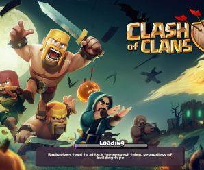 Событие Загрузка в клэш оф кланс (clash of clans)