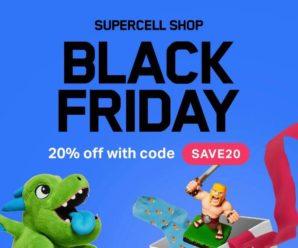 Черная пятница в магазине Суперселл