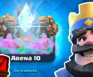 10 Арена Clash royale( Кабанья гора)