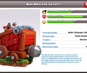 Разрушитель стен (Wall Wrecker) в Клэш оф Кланс