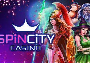 Город спинов в Спин сити казино