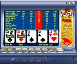 Обзор игрового автомата Джокер Покер в казино Вулкан