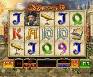 Игровой автомат Nostradamus
