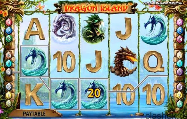dragon island игровой автомат