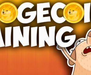 Майнинг DOGE coin на сайте clashok