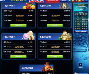 Виды бонусов в казино Вулкан
